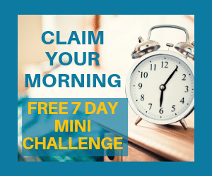 Claim Your Morning Challenge